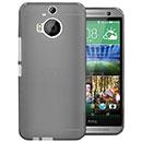 Coque HTC One M9 Plus Silicone Transparent Housse - Gris