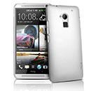 Coque HTC One Max T6 Plastique Etui Rigide - Blanche
