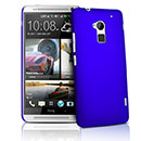 Coque HTC One Max T6 Plastique Etui Rigide - Bleu
