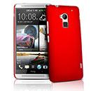 Coque HTC One Max T6 Plastique Etui Rigide - Rouge