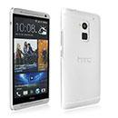 Coque HTC One Max T6 Transparent Plastique Etui Rigide - Clear