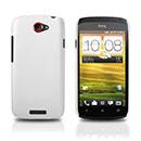 Coque HTC One S Plastique Etui Rigide - Blanche