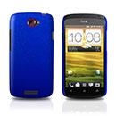 Coque HTC One S Plastique Etui Rigide - Bleu