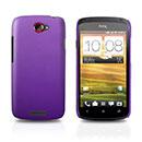 Coque HTC One S Plastique Etui Rigide - Pourpre