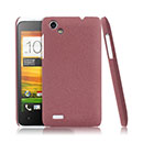 Coque HTC One SC T528d Sables Mouvants Etui Rigide - Rose