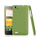 Coque HTC One SC T528d Sables Mouvants Etui Rigide - Verte