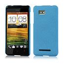 Coque HTC One SU T528W Sables Mouvants Etui Rigide - Bleue Ciel