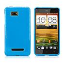 Coque HTC One SU T528W Silicone Gel Housse - Bleue Ciel