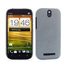 Coque HTC One SV C525e Sables Mouvants Etui Rigide - Gris