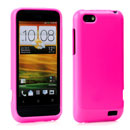 Coque HTC One V Silicone Gel Housse - Rose Chaud