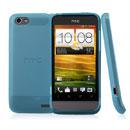 Coque HTC One V Silicone Transparent Housse - Bleue Ciel