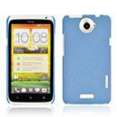 Coque HTC One X Sables Mouvants Etui Rigide - Bleue Ciel