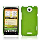 Coque HTC One X Sables Mouvants Etui Rigide - Verte