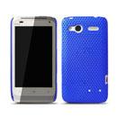 Coque HTC Radar C110e Filet Plastique Etui Rigide - Bleu
