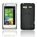 Coque HTC Radar C110e Filet Plastique Etui Rigide - Noire