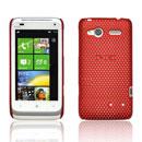 Coque HTC Radar C110e Filet Plastique Etui Rigide - Rouge
