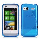 Coque HTC Radar C110e S-types Silicone Gel Housse - Bleu