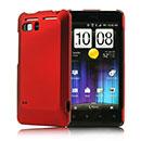 Coque HTC Raider 4G X710e G19 Plastique Etui Rigide - Rouge