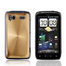 Coque HTC Sensation 4G G14 Z710e Aluminium Metal Plated Etui Rigide - Golden