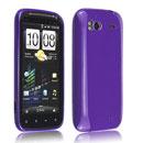 Coque HTC Sensation 4G G14 Z710e Silicone Gel Housse - Pourpre