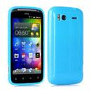 Coque HTC Sensation 4G G14 Z710e TPU Gel Housse - Bleu