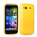 Coque HTC Sensation 4G G14 Z710e TPU Gel Housse - Jaune