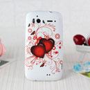 Coque HTC Sensation 4G Z710e G14 Amour Silicone Housse Gel - Rouge