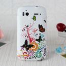Coque HTC Sensation 4G Z710e G14 Papillon Silicone Housse Gel - Verte