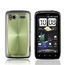 Coque HTC Sensation XE G18 Z715e Aluminium Metal Plated Etui Rigide - Verte