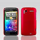 Coque HTC Sensation XE G18 Z715e Plastique Etui Rigide - Rouge
