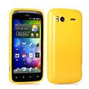Coque HTC Sensation XE G18 Z715e TPU Gel Housse - Jaune