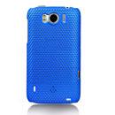 Coque HTC Sensation XL X315e G21 Filet Plastique Etui Rigide - Bleu