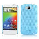 Coque HTC Sensation XL X315e G21 Filet Plastique Etui Rigide - Bleue Ciel