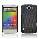 Coque HTC Sensation XL X315e G21 Filet Plastique Etui Rigide - Noire