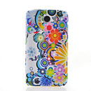 Coque HTC Sensation XL X315e G21 Fleurs Silicone Housse Gel - Mixtes