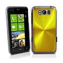 Coque HTC Titan X310e Aluminium Metal Plated Etui Rigide - Golden