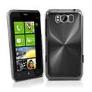 Coque HTC Titan X310e Aluminium Metal Plated Etui Rigide - Noire