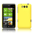 Coque HTC Titan X310e Plastique Etui Rigide - Jaune