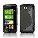 Coque HTC Titan X310e S-Line Silicone Gel Housse - Noire