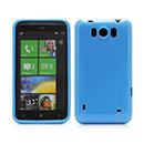 Coque HTC Titan X310e Silicone Gel Housse - Bleue Ciel