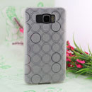 Coque HTC Touch HD2 T8588 Cercle Gel TPU Housse - Blanche