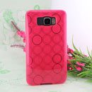 Coque HTC Touch HD2 T8588 Cercle Gel TPU Housse - Rose
