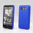 Coque HTC Touch HD2 T8588 Filet Plastique Etui Rigide - Bleu