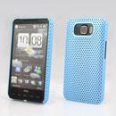 Coque HTC Touch HD2 T8588 Filet Plastique Etui Rigide - Bleue Ciel