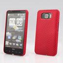 Coque HTC Touch HD2 T8588 Filet Plastique Etui Rigide - Rouge