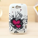 Coque HTC Wildfire G8 Amour Silicone Housse Gel - Mixtes