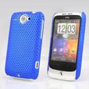 Coque HTC Wildfire G8 Filet Plastique Etui Rigide - Bleu