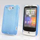 Coque HTC Wildfire G8 Filet Plastique Etui Rigide - Bleue Ciel
