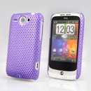 Coque HTC Wildfire G8 Filet Plastique Etui Rigide - Pourpre