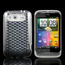 Coque HTC Wildfire S G13 A510e Diamant TPU Gel Housse - Claire